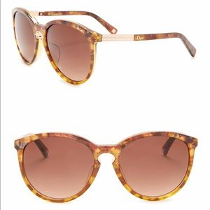 DIOR Tortoise Shell Sunglasses